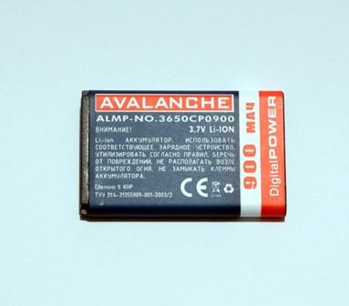 АКБ Avalanche для Nokia 1100, 2300, 3100, 3650 (BL-5C) - 900 мАч