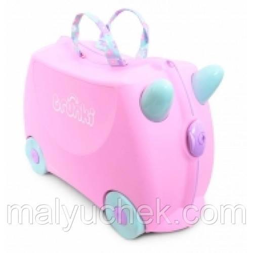 Детский чемодан Trunki Rosie print handles/ Рози