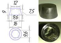 Колпачки к болтам М6, гайкам  10 мм