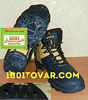 Универсальные ледоходы на 7+7 шипов, ледоступы, антискользители, шипы на обувь