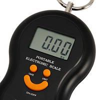 Весы ручные электронные. ЖК-дисплей. 40кг*10гр