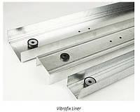 Vibrofi Liner 50 профиль для гипсокартона звукоизоляционный