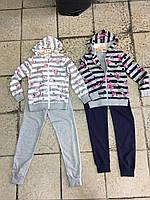 Спортивный трикотажный костюм для девочки F&D