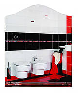 Зеркало для ванной «Плавная арка» (68х55 см)