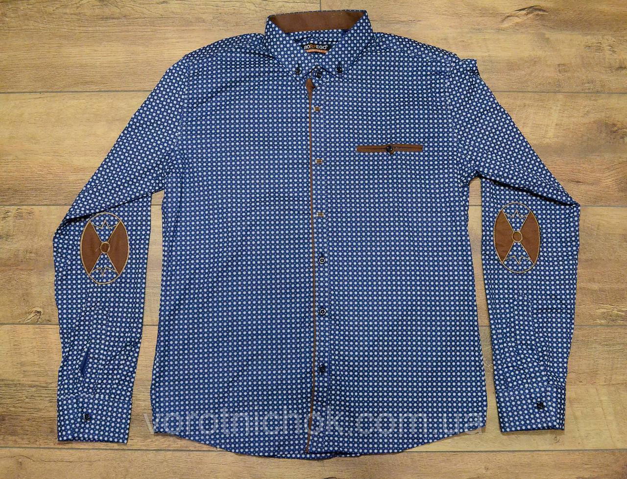 Стрейчевая мужская рубашка m- xxxl размеры
