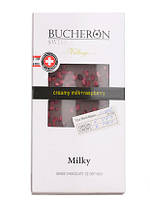 Шоколад Bucheron  молочный с малиной 100 грамм