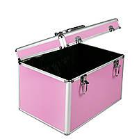 Чемодан для парикмахерских инструментов, розовый , фото 1