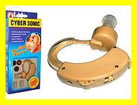 Слуховой аппарат Cyber Sonic+ Батарейки + Чехол