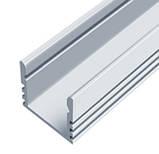 ЛП 12 алюминиевый профиль для светодиодной ленты, накладной 12 х 16 мм., фото 4