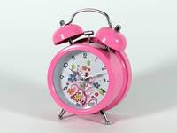 Прикольный настольный будильник Цветочки