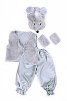 Детский карнавальный костюм - Мышка Норушка для мальчика. РОЗНИЦА!