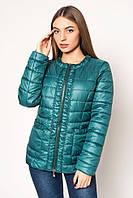 Женская курточка LeveL-зеленая, 44-52