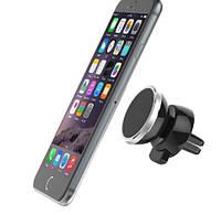 Держатель для телефона магнитный на клипсе в автомобиль.
