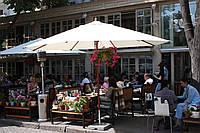 Деревянный Зонт СОЛО, 4м, для кафе, бара, летних площадок