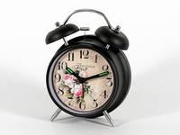Круглый будильник Чайная роза