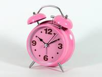 Розовый будильник для девочки