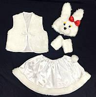 Карнавальный костюм - Зайка (девочка)  №-1
