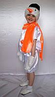 Карнавальный костюм Снеговик № 2 (атлас)