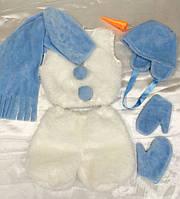 Карнавальный костюм Снеговик № 1 (мех)