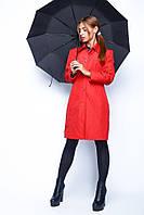 Классический женский плащ - Росина, красный (4 цвета)