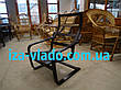 Плетеная мебель из лозы. Кресло-лягушка (пружина), фото 5