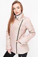 Осенняя женская куртка LeveL- 21 , бежевый (6цветов)