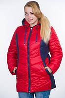 Тёплая женская куртка больших размеров, 48-64