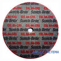 3M 13777 XL-UW - Прессованный круг Scotch-Brite™ 152,4х12,7х6,35 мм, 8A CRS, для прямых и угловых шлифмашин