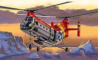 """Сборная модель вертолета H-21 """"FLYING BANANA """" 1/72"""