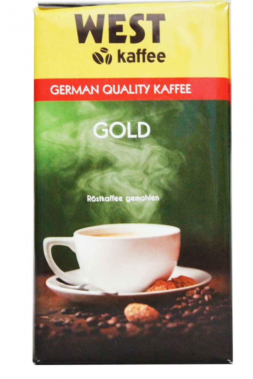 Кофе молотый West Gold  500гр. Германия