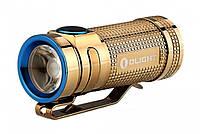 Фонарь Olight S Mini Limited Copper Gold - хороший выбор для туристов/рабочих работ