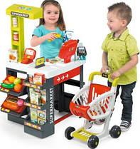 Магазин супермаркет с тележкой Smoby 350210