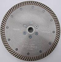 Алмазный диск cеребристый на фланеце для  резки бетона, гранита Turbo 150x2,2/1,5x10x22,23/F-M14