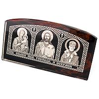 Обсидиан, иконка тройная самоклеящаяся, 143ФГО