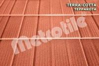 Композитная металлочерепица METROSHINGLE (Метрошингл) Terracotta