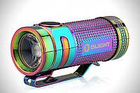 Фонарь Olight S Mini Limited Titanium Rainbow - отличный выбор для туристов/рабочих работ/охоты
