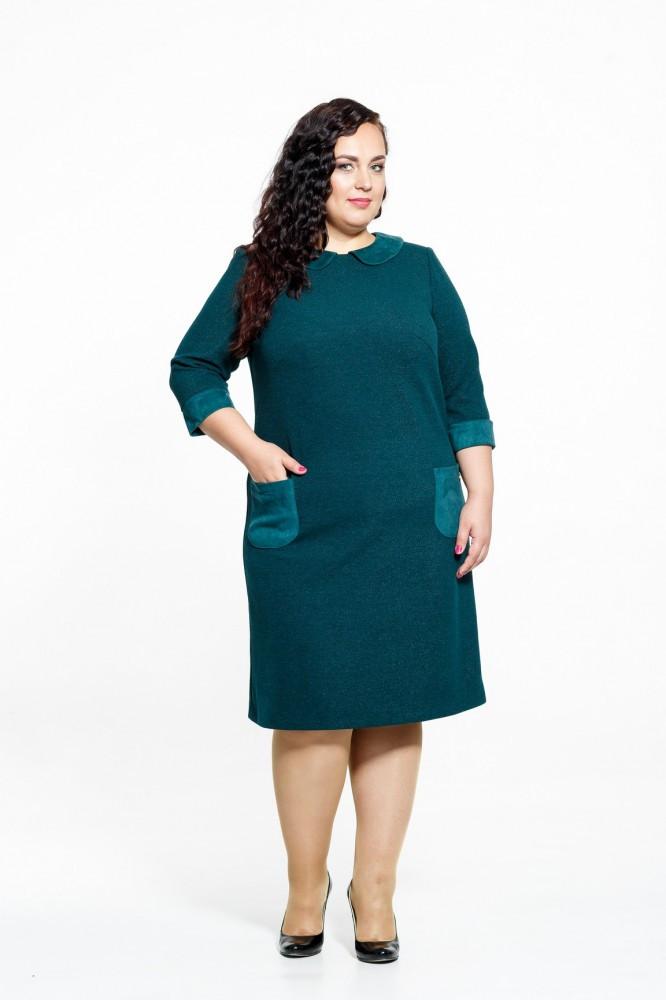 Платье женское Petro Soroka модель ЗС 2610-04  бордовое