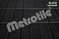 Композитная металлочерепица METROSHINGLE (Метрошингл) Black