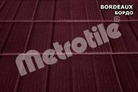 Композитная черепица Metrotile SHINGLE (шингл) Bordeaux