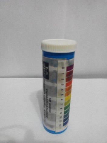 Универсальная лакмусовая бумага 100 полосок, фото 2