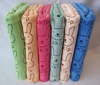 Банное детское махровое полотенце. Размер: 1,4 x 0,7