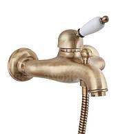 Бронзовый смеситель для ванны в ретро стиле Fiore Imperial