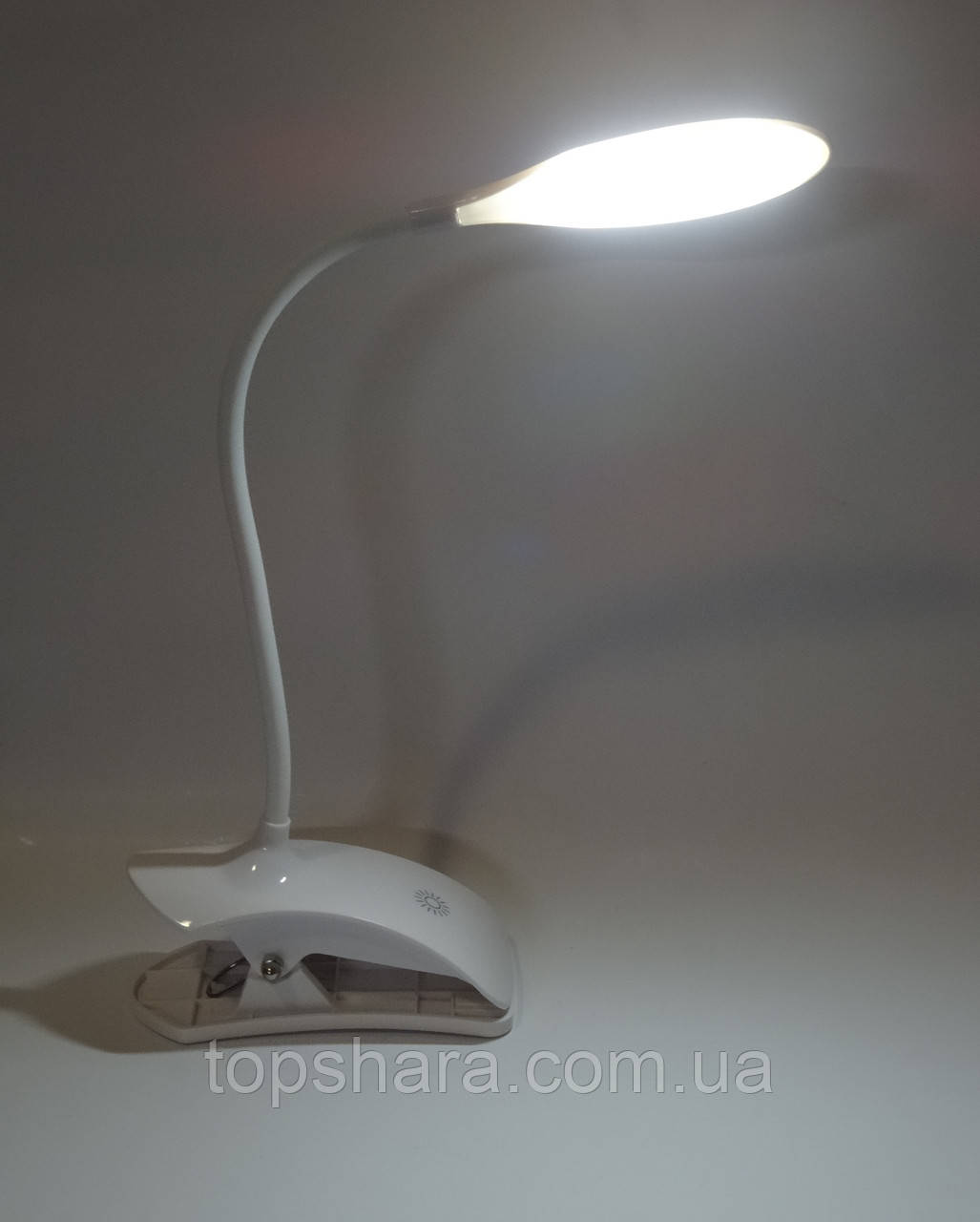 Настольная led лампа USB на прищепке с сенсорной регулировкой яркости MH-007