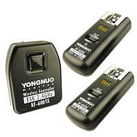 Радиосинхронизатор для вспышек Yongnuo RF-602 N для nikon + 2 ресивера, фото 1