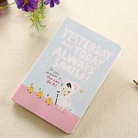 Ежедневник маленький без дат с разными страницами