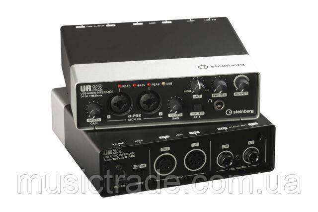Аудио интерфейс Steinberg UR22