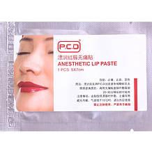 Салфетка-анестетик PCD для губ