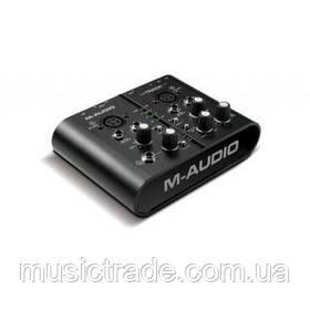 Аудиоинтерфейс M-Audio M-Track Plus