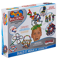 Констуктор ZOOB BuilderZ Inventor's Kit 100 деталей