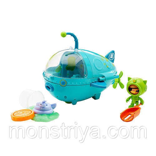 "Игрушки ""Октонавты"" Fisher-Price Octonauts Кот Квайзи"